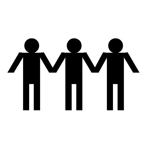 An icon representing alumni