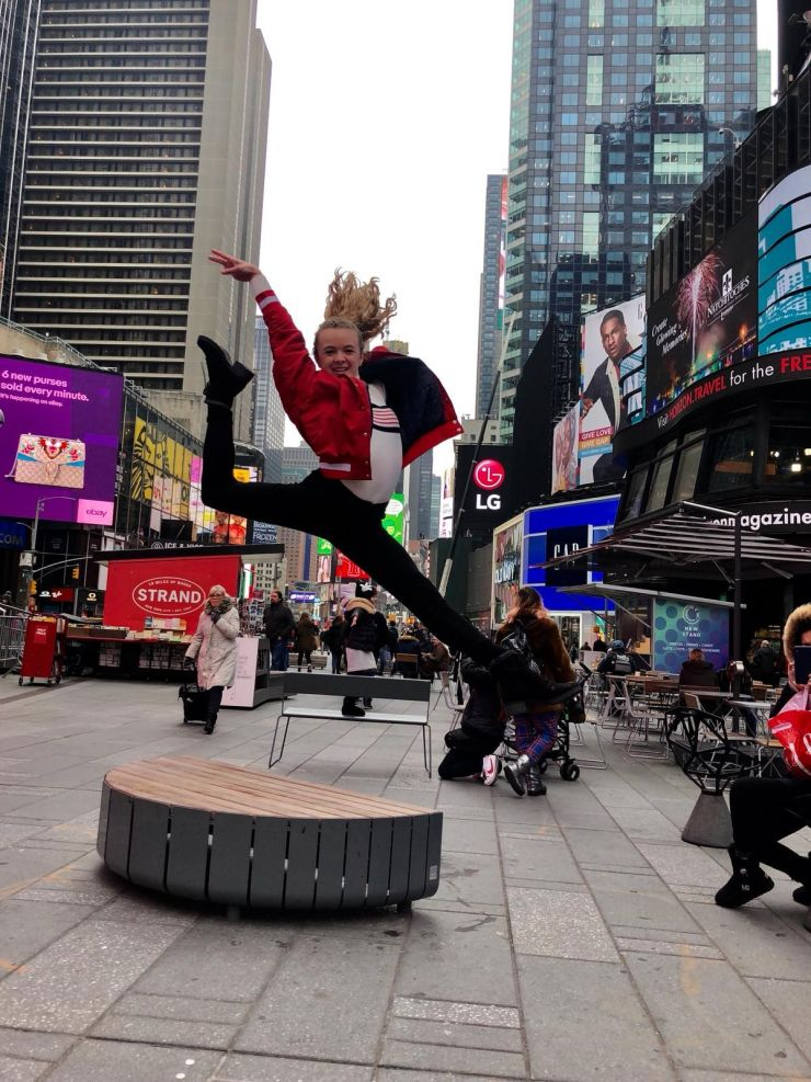 Freshman Dance Member Travels to NYC
