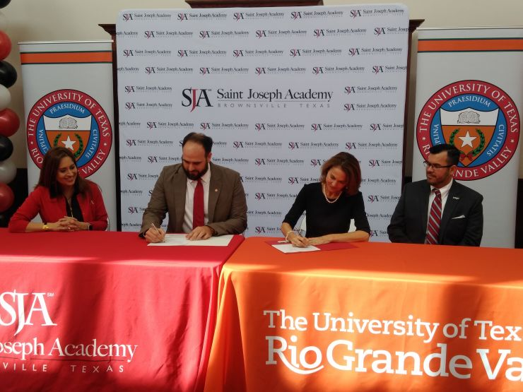 Saint Joseph Academy partners with The University of Texas Rio Grande Valley for exciting opportunity